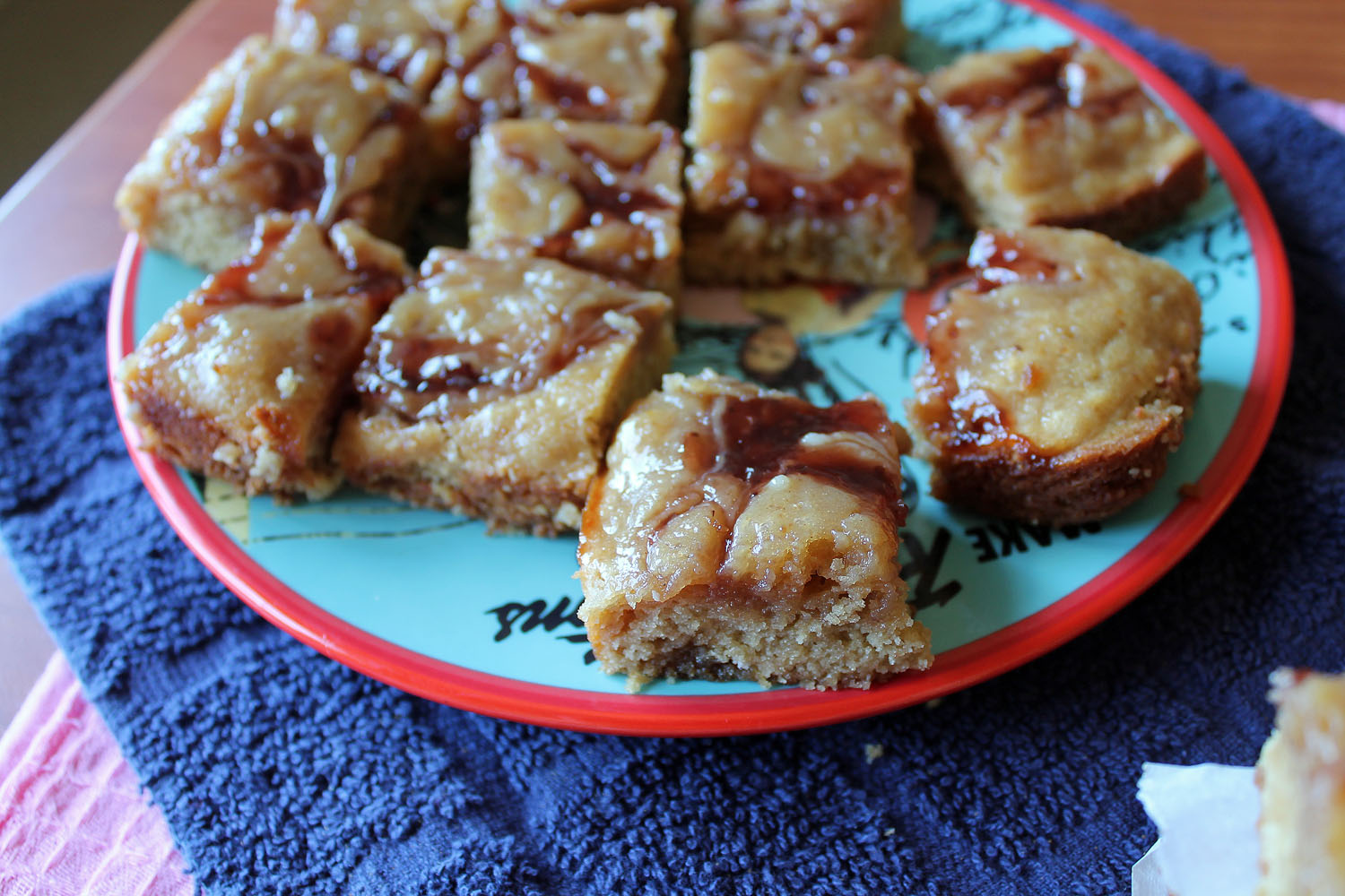 Cookie Butter and Jelly Blondies 7--012713