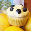 Summer Lemon Blueberry Cupcakes with Lemon Cream Cheese Frosting 7--082413