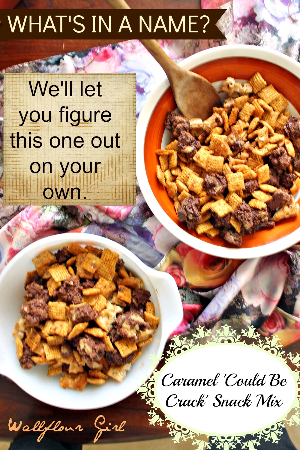 Caramel 'Could Be Crack' Snack Mix 8--111113