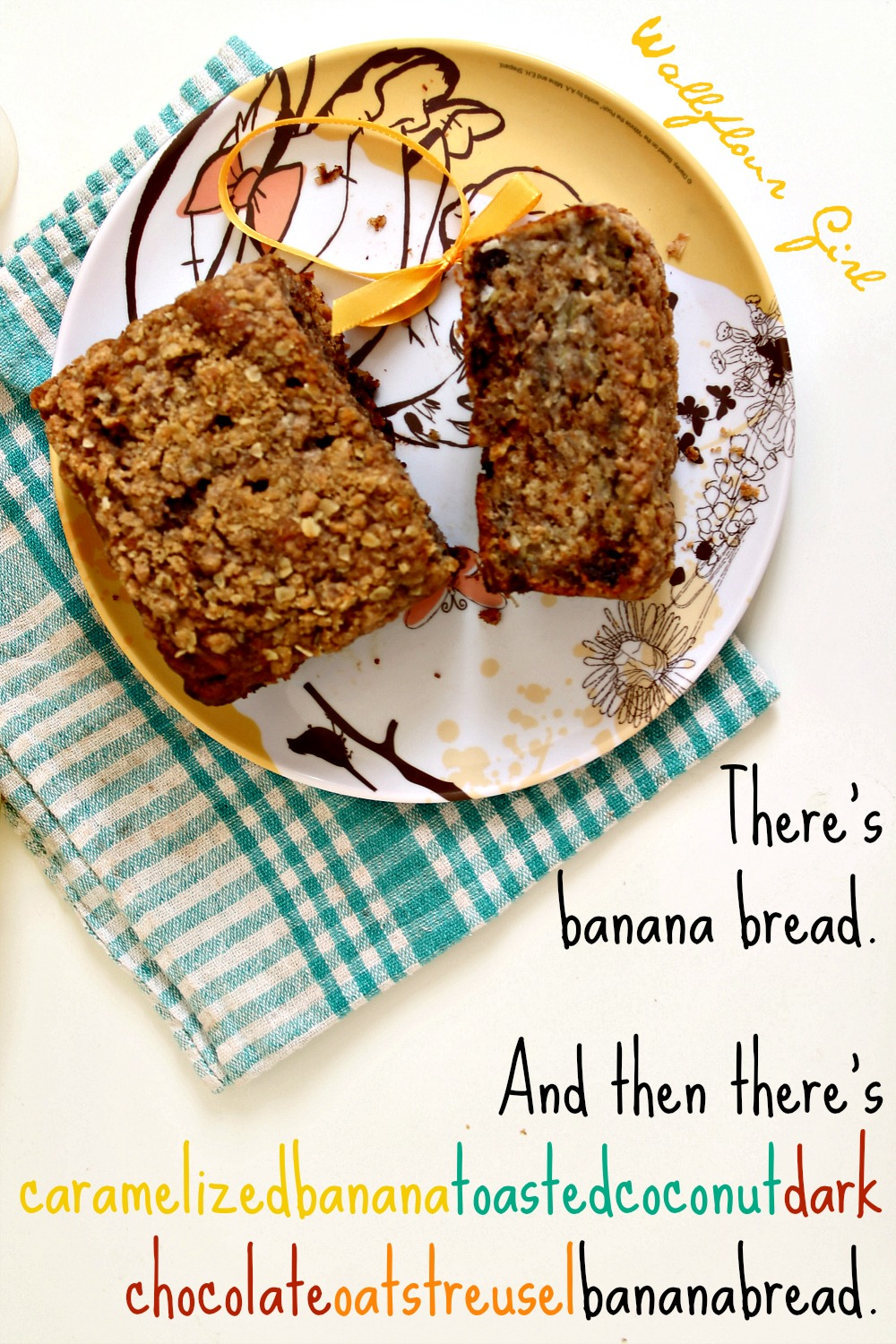 Scrumdiddlyumptious Caramelized Banana and Toasted Coconut Banana Bread 14--013014