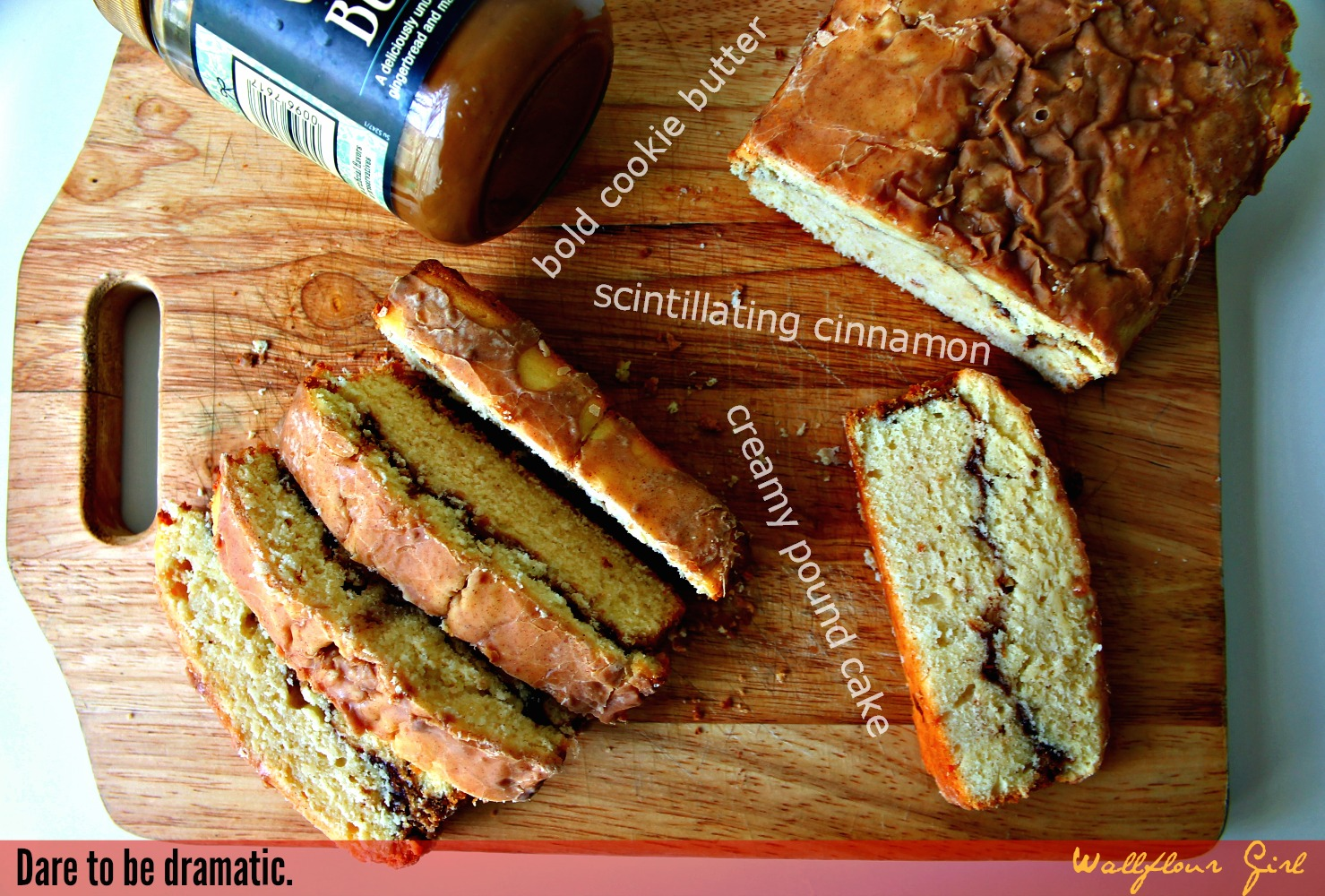 Cookie Butter Swirl Cinnamon Pound Cake 2--032614