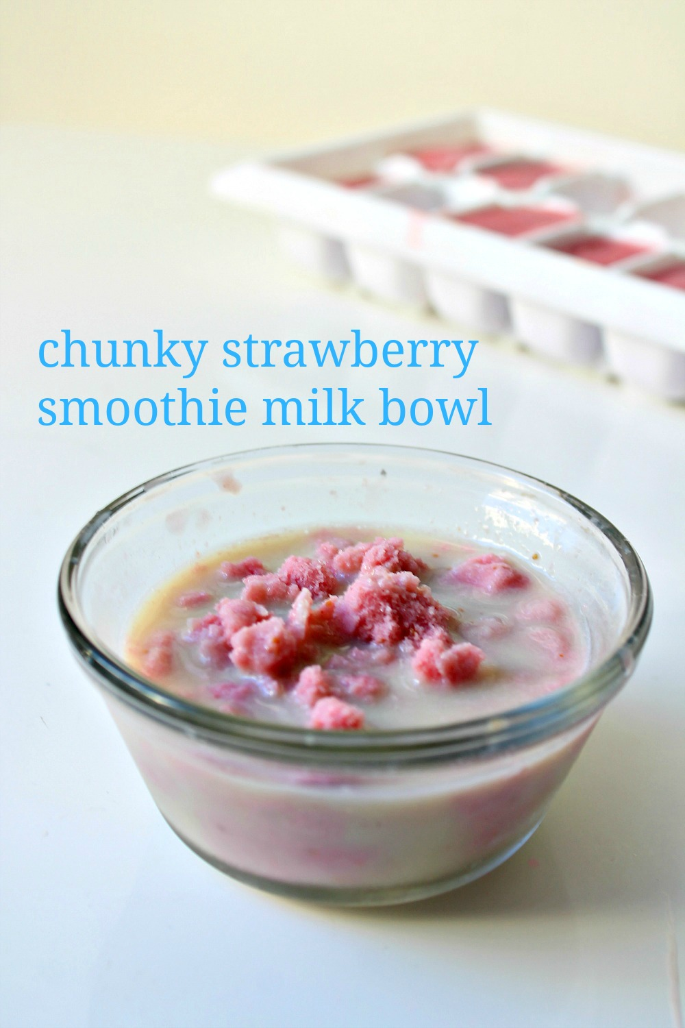 Strawberry Smoothie Cubes 6--120814