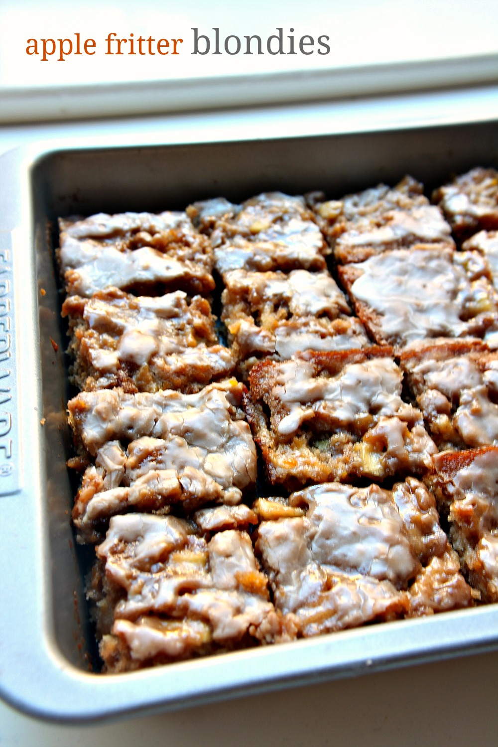 Apple Fritter Blondies 6--011115