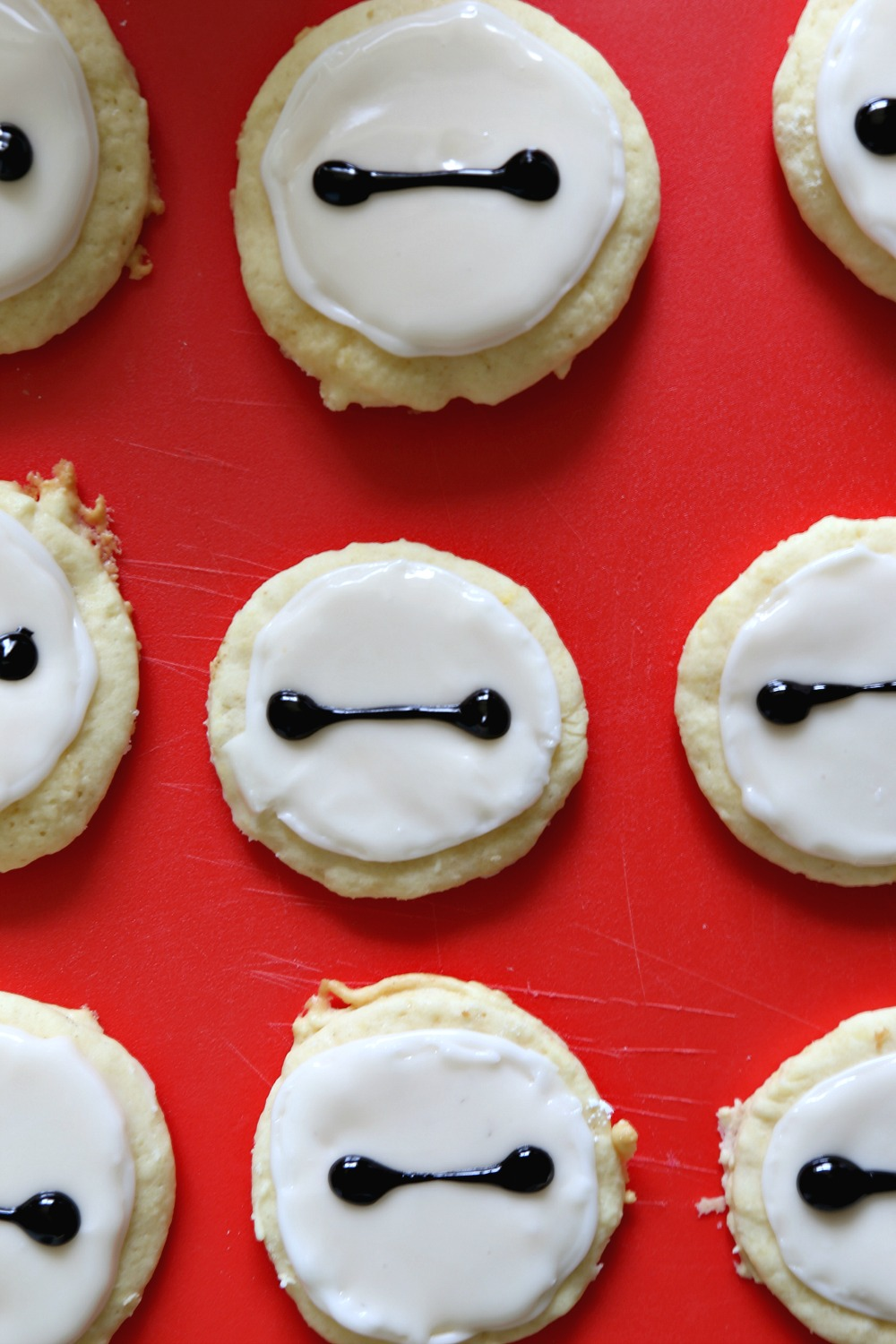 Baymax Sugar Cookies 1--031416