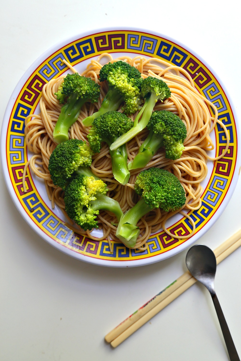 Asian Sesame Noodles with Broccoli 6--040716
