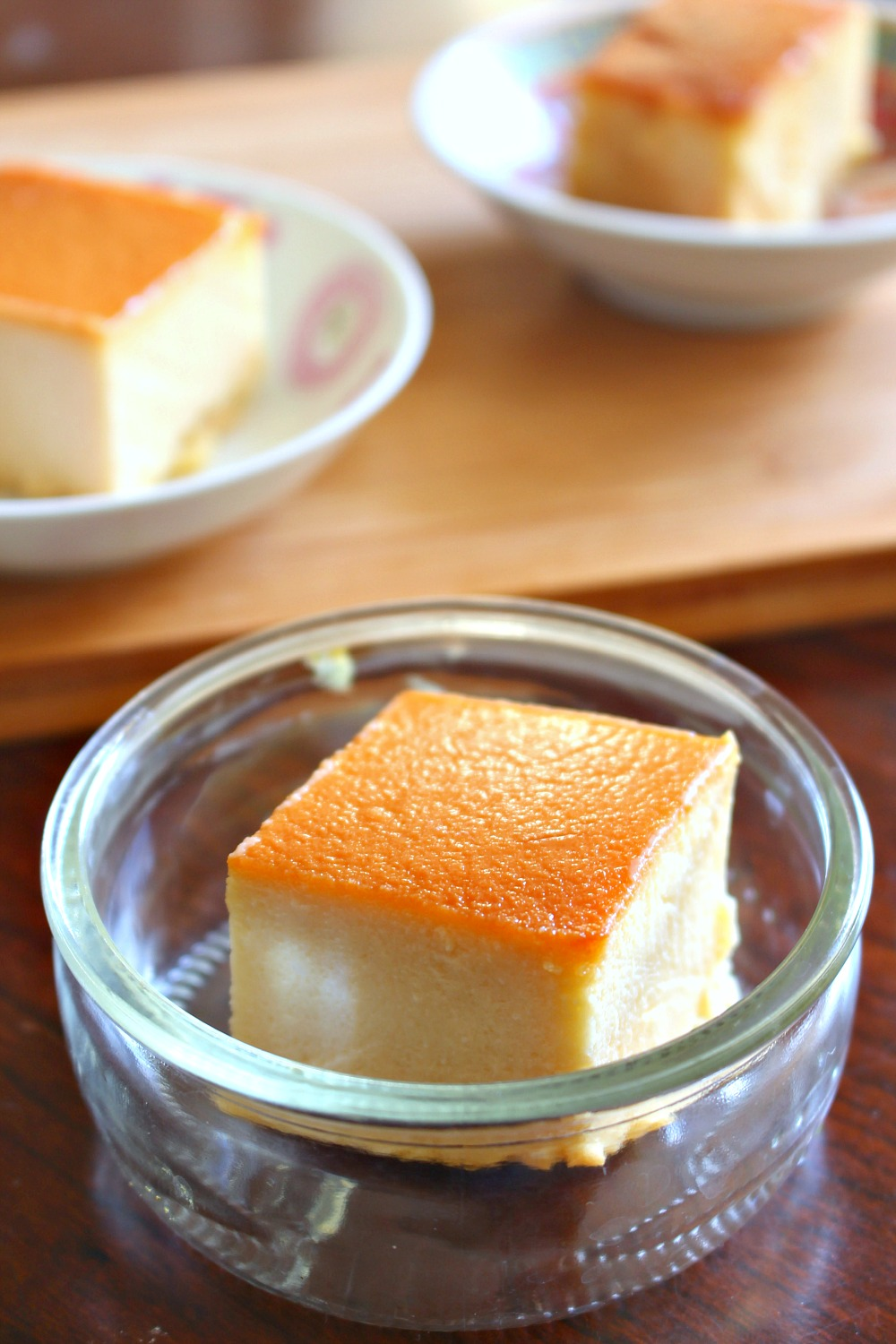 Happy new year! Can I interest you in this creamy caramel flan?