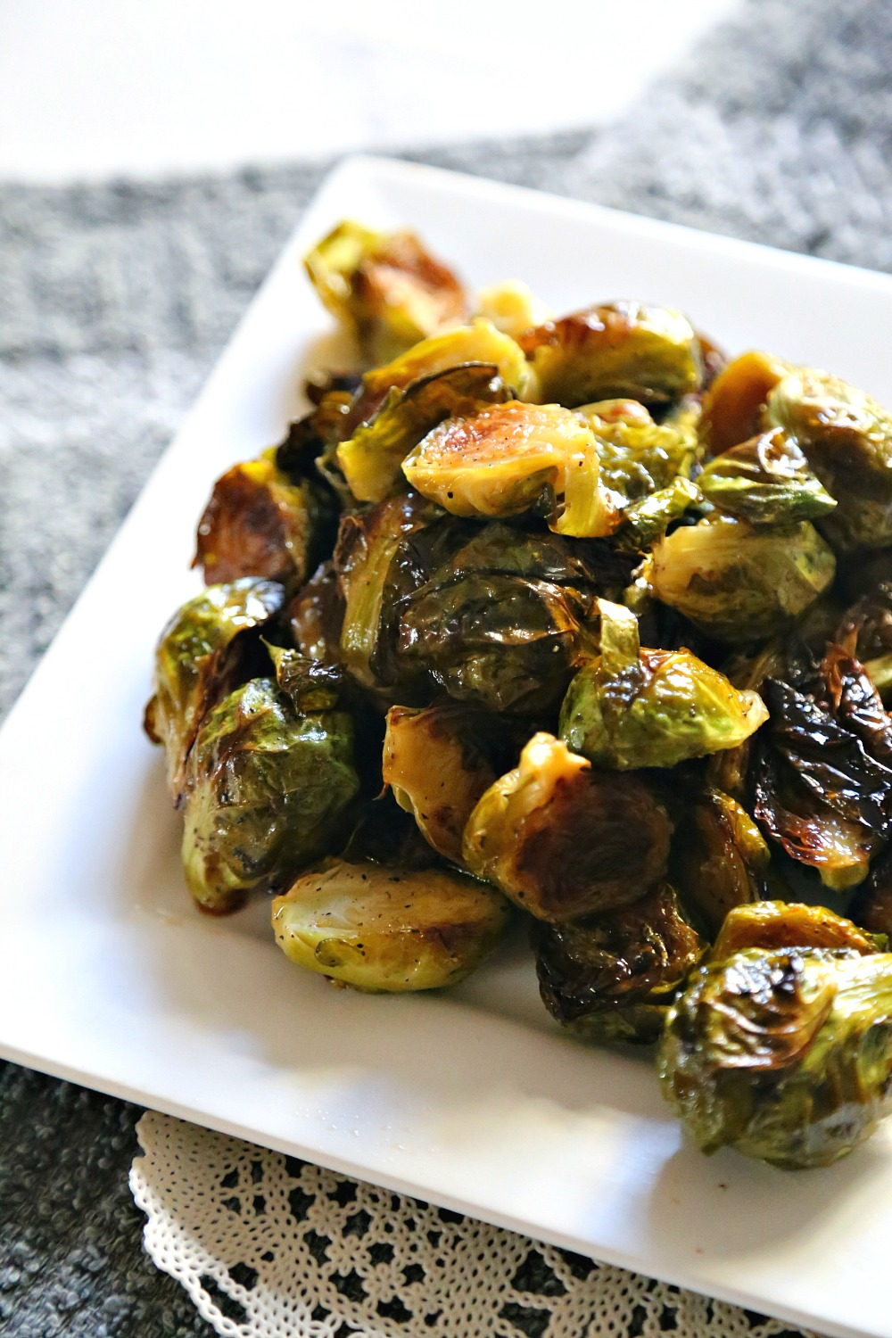 Roasted Maple Brussel Sprouts 5--011317